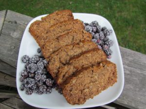 Gluten Free Oatmeal Banana Bread by Marie Tower at MarieTower.com