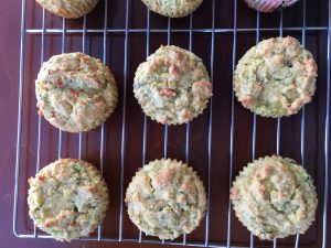 Zucchini Carrot Muffins by Marie Tower at MarieTower.com