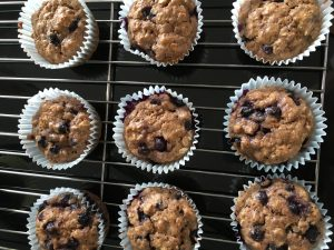 Blueberry Muffins By Marie Tower At MarieTower.com