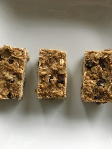 Chocolate Chip (Lentil!) Granola Bars