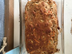 Morning Glory Banana Bread by Marie Tower at MarieTower.com