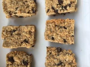 Chocolate Chip Granola Bars by Marie Tower at Marietower.com