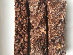 No Bake Chocolate Crunch Bars by Marie Tower at MarieTower.com