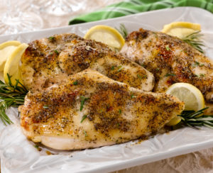 Lemon Herb Roasted Chicken by Marie Tower at MarieTower.com