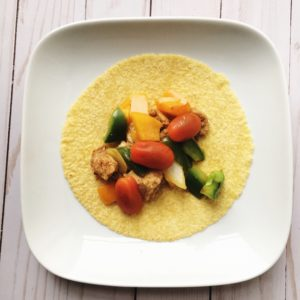 Easy Chicken Fajitas by Marie Tower at MarieTower.com