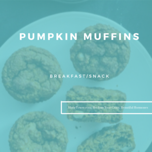 Pumpkin Muffins by Marie Tower at MarieTower.com