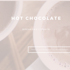 Hot Chocolate by Marie Tower at MarieTower.com