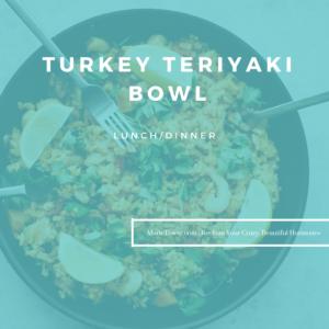Turkey Teriyaki Bowl by Marie Tower at MarieTower.com