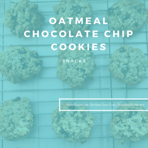 Oatmeal Chocolate Chip Cookies by Marie Tower at MarieTower.com